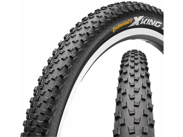 "Continental X-King 2.2 Tyre Sport 27.5"", wire bead Skin black/black"